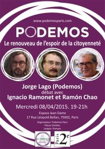 Ignacio Ramonet y Ramón Chao analizan el fenómeno Podemos en una conversación con Jorge Lago