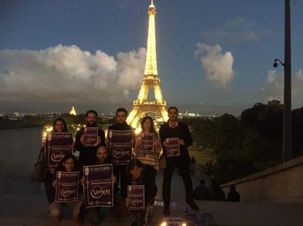 Nadie sin luz, Podemos Paris 170